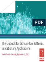 12.01 Jim McDowall - The Outlook for Lithium-Ion Batterie