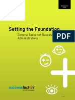 Setting the Foundation Admin Guide