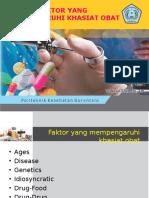Faktor-Faktor yang Mempengaruhi Khasiat Obat.ppt