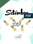 9 PLANNER 2017 Setembro