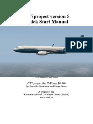 x737 ReadMe&Manual pdf | Takeoff | Aircraft Flight Control