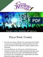 Prayer Point