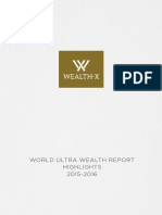 Wealth X World Ultra Wealth Report 2015 2016