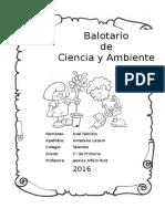 02 Balotario Desarrollado - Ciencia y Ambiente
