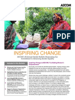 Inspiring Change - AECOM Bi-Annual Gender Bulletin