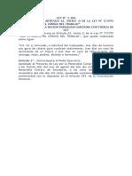 Ley n 3384 Modifica El Articulo 62 Inc. j)