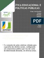 SEMINARIO POLITICAS