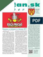 Račan.sk výber 2016