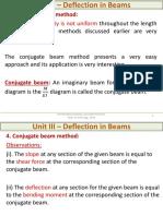L15 -Deflection-conjugate Beam Method