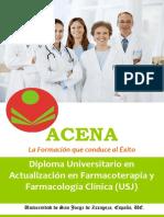 Diploma Universitario Act. Farmacoterapia Farmacología Clínica