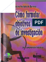 Como formular Objetivos de Investigacion - Jacqueline Hurtado.pdf