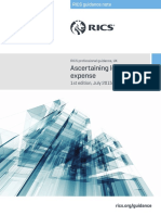 Ascertaining Loss and Expense Amended 1st Edition PGguidance 2015