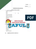 Ficha de Orientación y Consejería