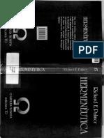 PALMER, Richard E. Hermeneutica