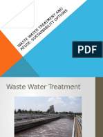 Waste Water Treatment and Reuse