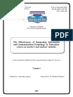 Agnaou / PhD Dissertation (Volume I)