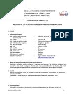Induccion Al Uso de Tic - Esc. Ing. Civil