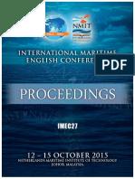 Imec 27 Proceedings