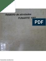 Relatório Funarte 1981