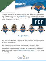 Boletim Guardiões do OnMaps - Nov/2016