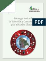 ESTRATEGIA NACIONAL DE EDUCACIÓN Y COMUNICACIÓN PARA EL CAMBIO CLIMÁTICO BOLIVIA
