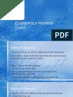 Economics Honors Chapter 1