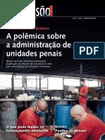 Revista Senado- Privatização de Presídios