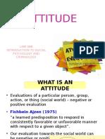 Attitude - ethics