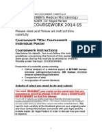 308BMS Medical Microbiology Coursework Resit Poster June 2015