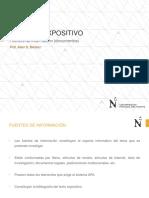 UPN. 2016-0. COMU1. Sem 04. La Exposición (Fuentes de Información)