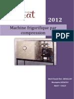 Cours Machines Frigorifiques