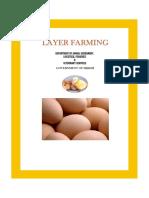 Layer Chicken Farming