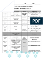 semester review - cover sheet  fall 2016
