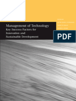 Management of Technology - 12th Conference Papers