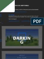 Darking Powerpoint Template