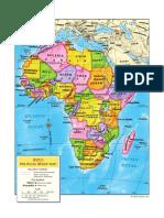 africa politcal