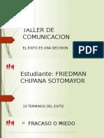 Trabajo Friedman