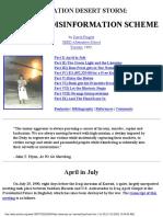 Operation Desert Storm- Outright Disinformation Scheme by David Fingrut-33