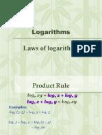 LawsOf Logarithms