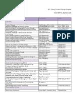 Product Design Book List 2016-17a - Copia