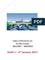 Tidy Towns Plans 2016 - 2018