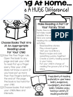 Tips for Parents Reading at Home