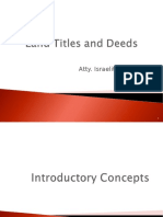 Land Titles and Deeds (2015) Revised