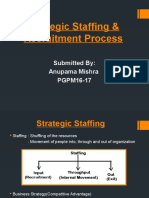 Assignment 3 Strategic Staffing & Recruitment