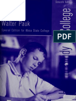 How to Study in College - Walter Pauk