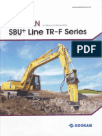 Brosur SOOSAN Hydraulic Breakers SBU+ Line TR-F Series