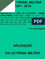 Capitão Rogério Eap 1ª Aula Aplicação Da Lei Penal Militar