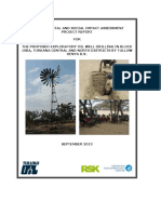 Final EIA Project Report for Exploratory Drilling in Block 10ba