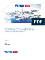ESIA- Oil & Gas for Yamal Peninsula in Northern Russia