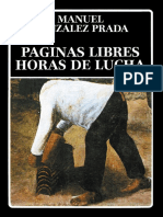 Paginas Libres - Manuel Gonzales Prada